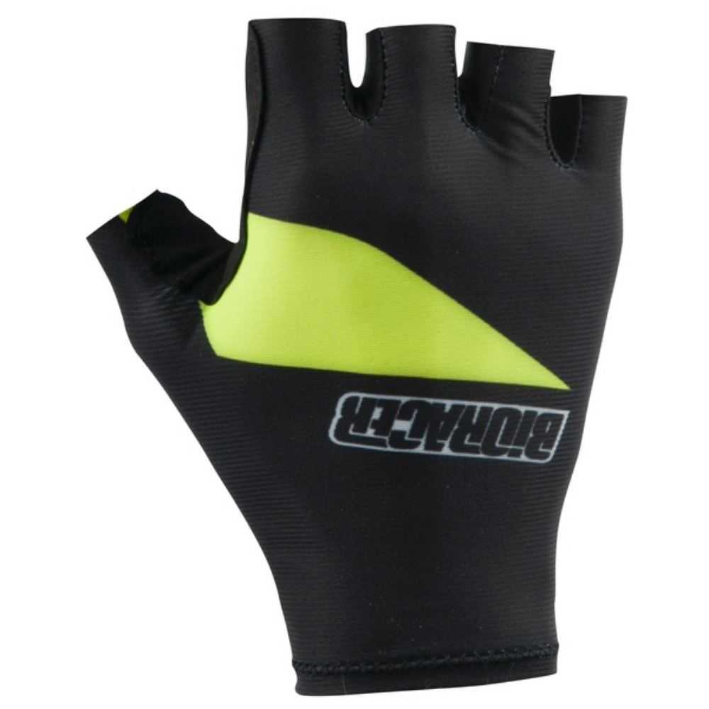 GLOVE ONE SUMMER Black-Fluo Yellow